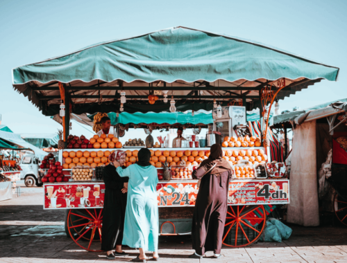 Marché au Maroc